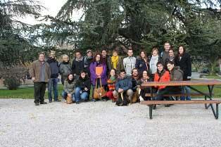 Algunes de les persones que van participar a les Jornades Conecta a Madrid