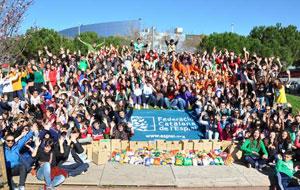 Van participar prop de 300 nois i noies